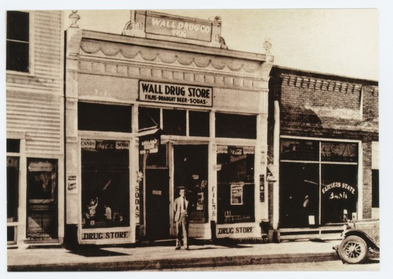 Wall Drug with Ted Hustead - Circa 1932