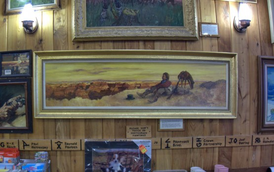 Wall Drug Restraunt Art Gallery Photo