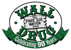 Wall Drug 90th logo.
